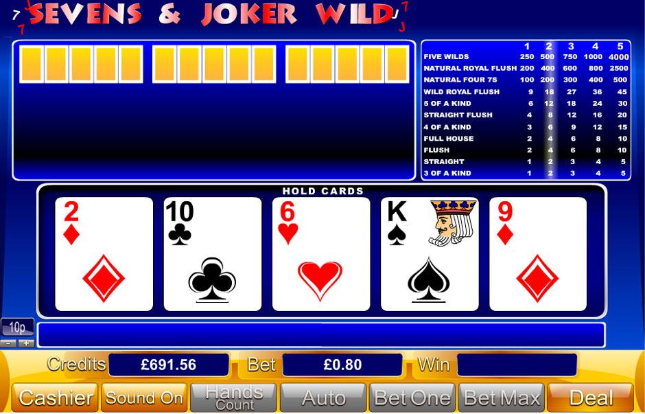 Sevens & Joker Wild
